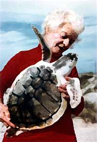 the turtle lady