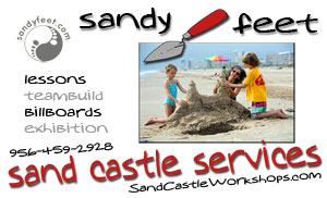 sandy feet sandcastle services